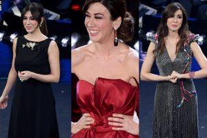 Sanremo-2019-seconda-serata-Virginia-Raffele-abiti-Schiaparelli-HC-Atelier-Emé